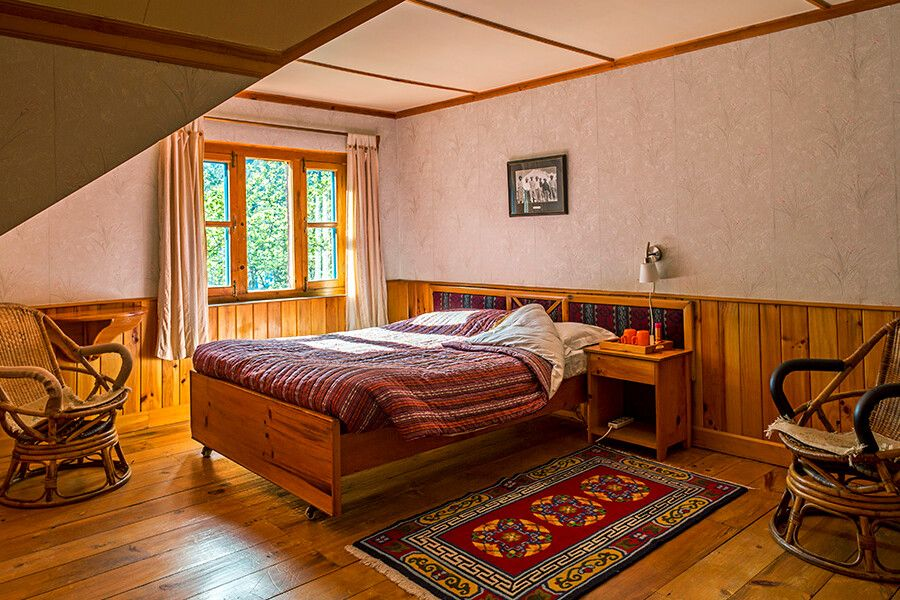 Doppelzimmer in der Everest Summit Lodge in Monjo