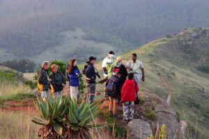 Wanderung im Mlilwane Game Reserve, Reilly's Rock Hilltop Lodge, Swasiland