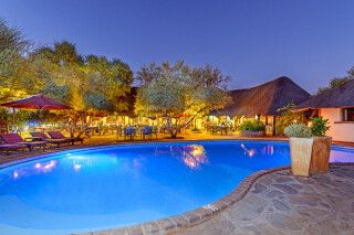Namib Desert Lodge, Pool