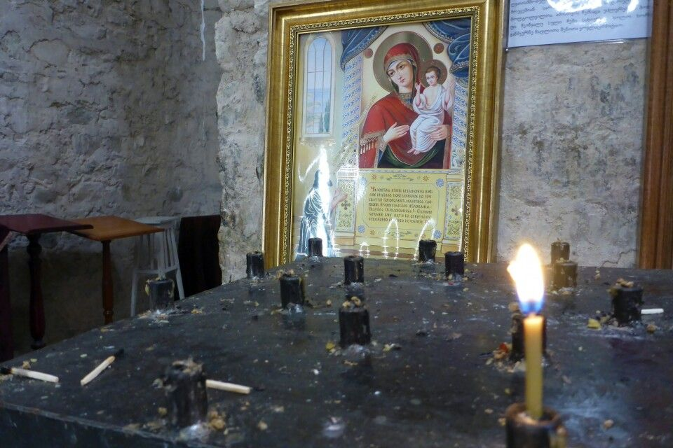 Kloster Ikhalto kleine Kapelle