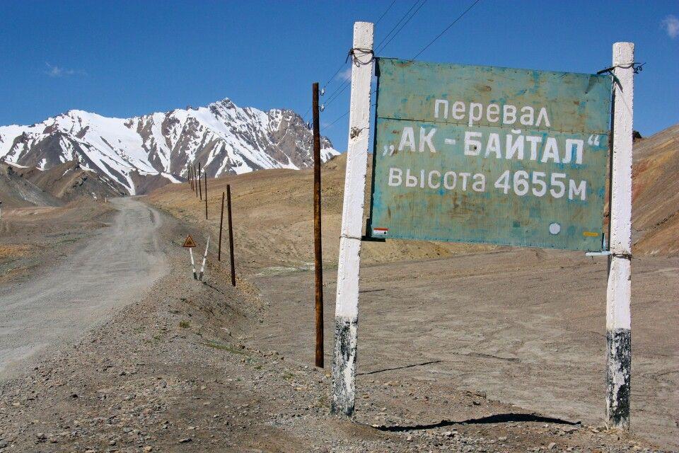 Akbaital-Pass (4655m)