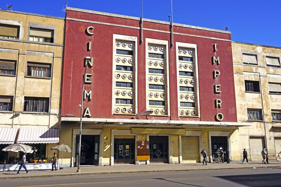 Cinema Imperial in Asmara