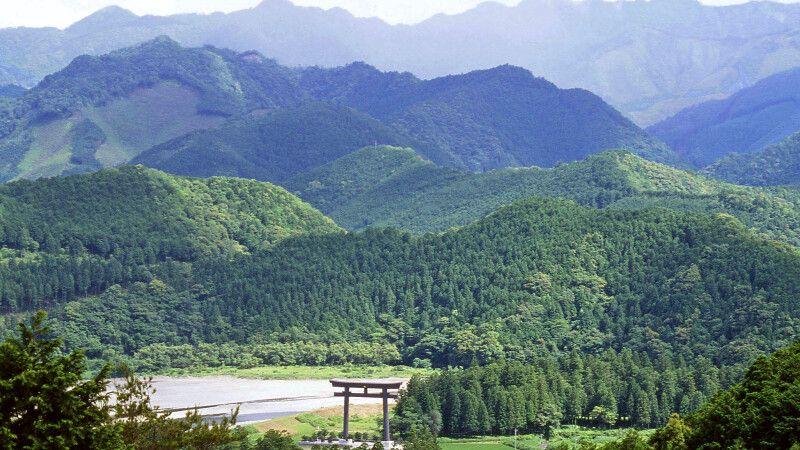 Kumano Hongu Taisha ist das Ziel am Ende des Pilgerweges Kumano Kodo © Diamir