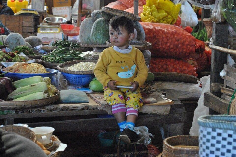 Auf einem Markt