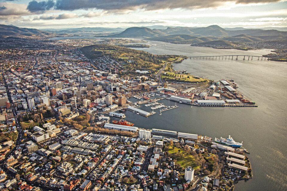 Küste von Hobart