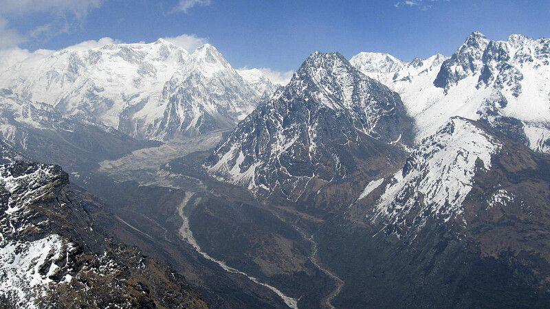 Blick vom Sinelapcha-Pass © Diamir