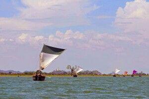 Fischerboote nahe Sittwe