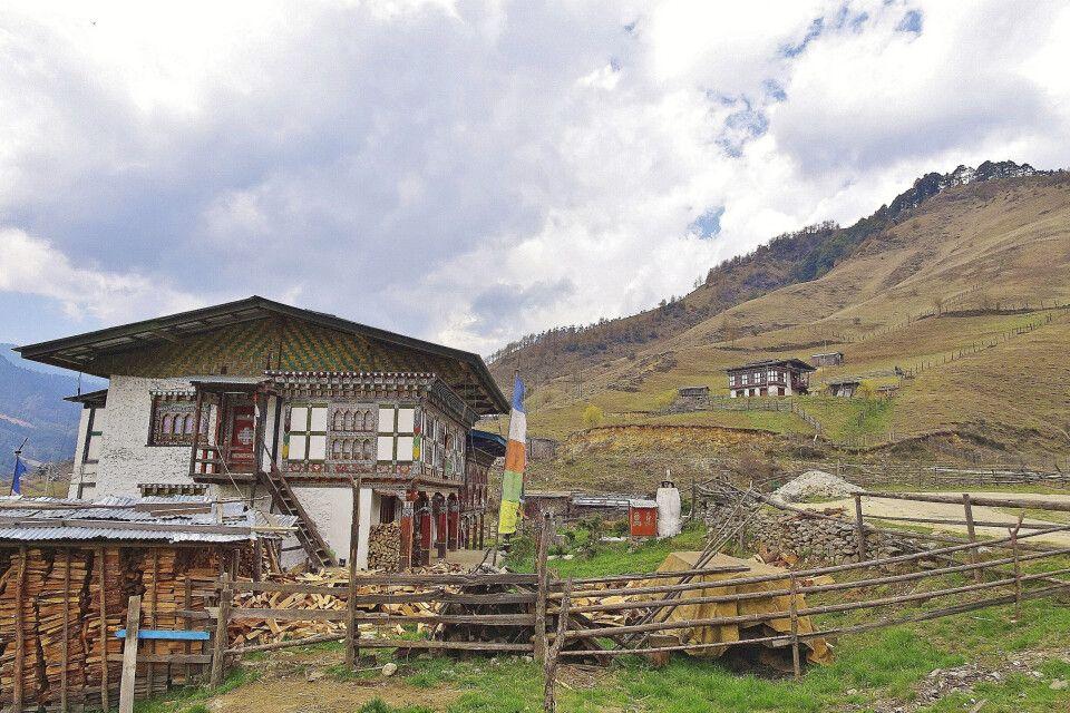 Bauernhaus in Ostbhutan