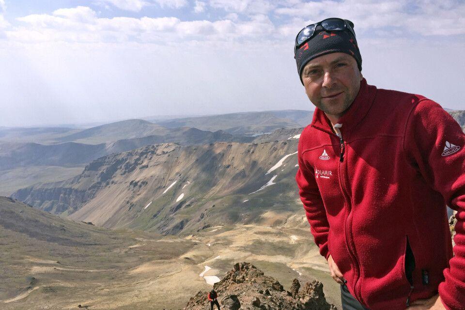 Blick vom Aragats Nordgipfel