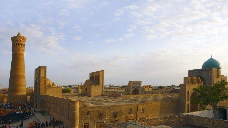 Blick über Altstadt von Buchara © Diamir