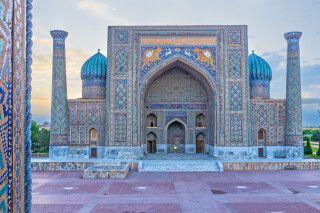 Sher-Dor-Madrasah in Samarkand