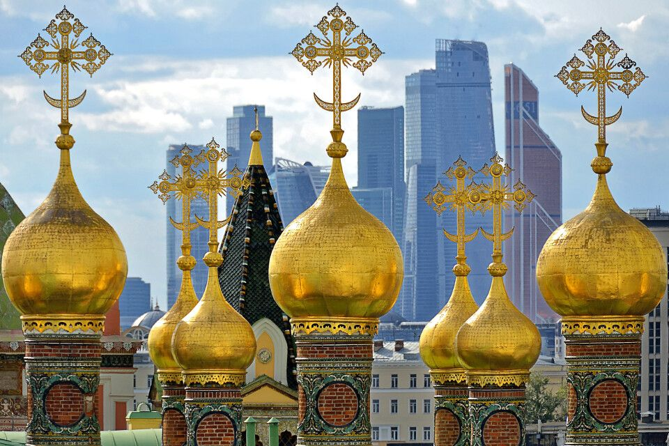 Moskau: Traditon und Moderne