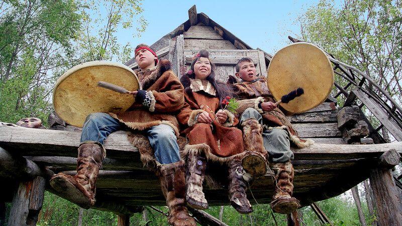 Volksgruppe der Ewenen in Esso © Diamir