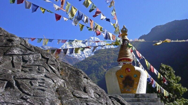 Stupa am Wegesrand © Diamir