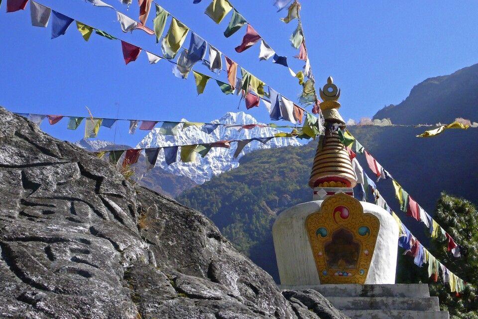 Stupa am Wegesrand