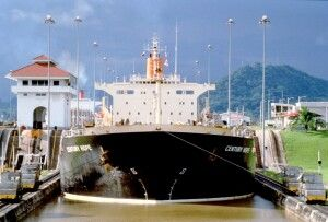 Panama-Kanal-Schleuse