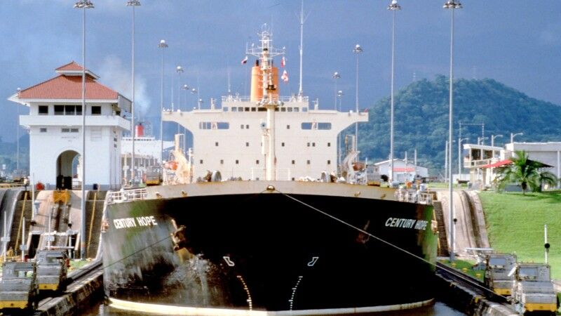 Panama-Kanal-Schleuse © Diamir