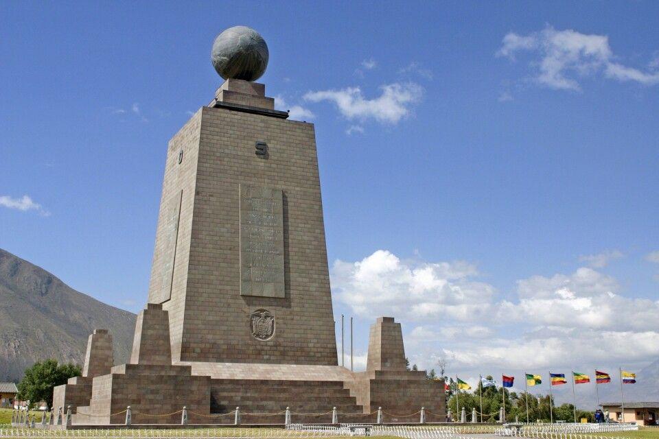 Äquatordenkmal Mitad del Mundo