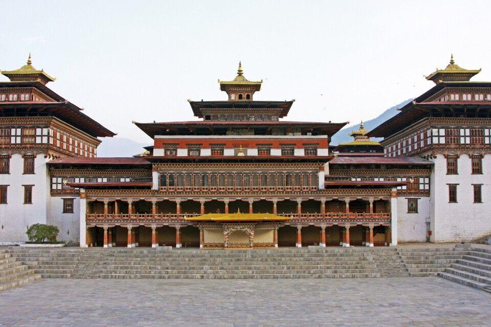 Tashi Chodzong in Thimphu