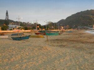 Fischerdorf Salango bei Puerto Lopez