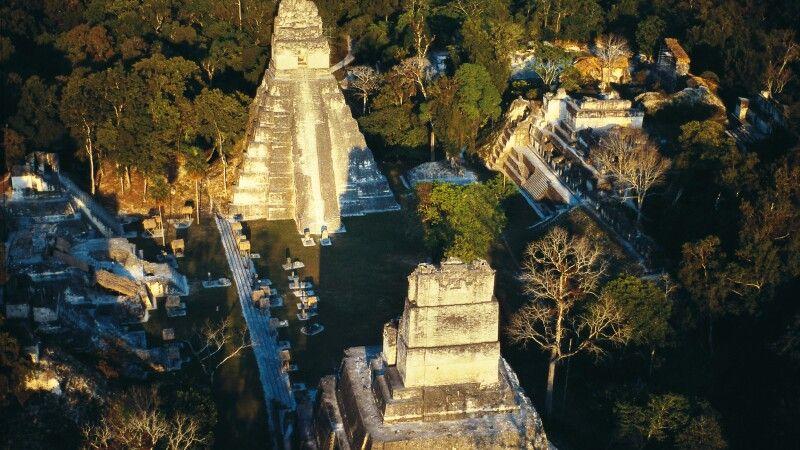 Maya-Tempel Tikal in Guatemala © Diamir