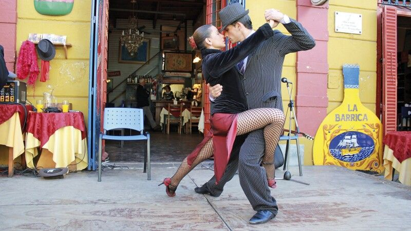 Tango-Vorführung in Buenos Aires © Diamir