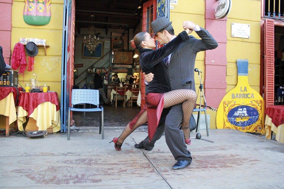 Tango-Vorführung in Buenos Aires