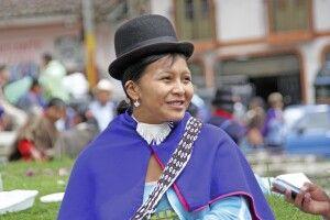 Guambiano-Indigena in Silvia