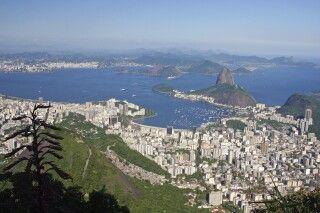 Blick auf Rio de Janeiro